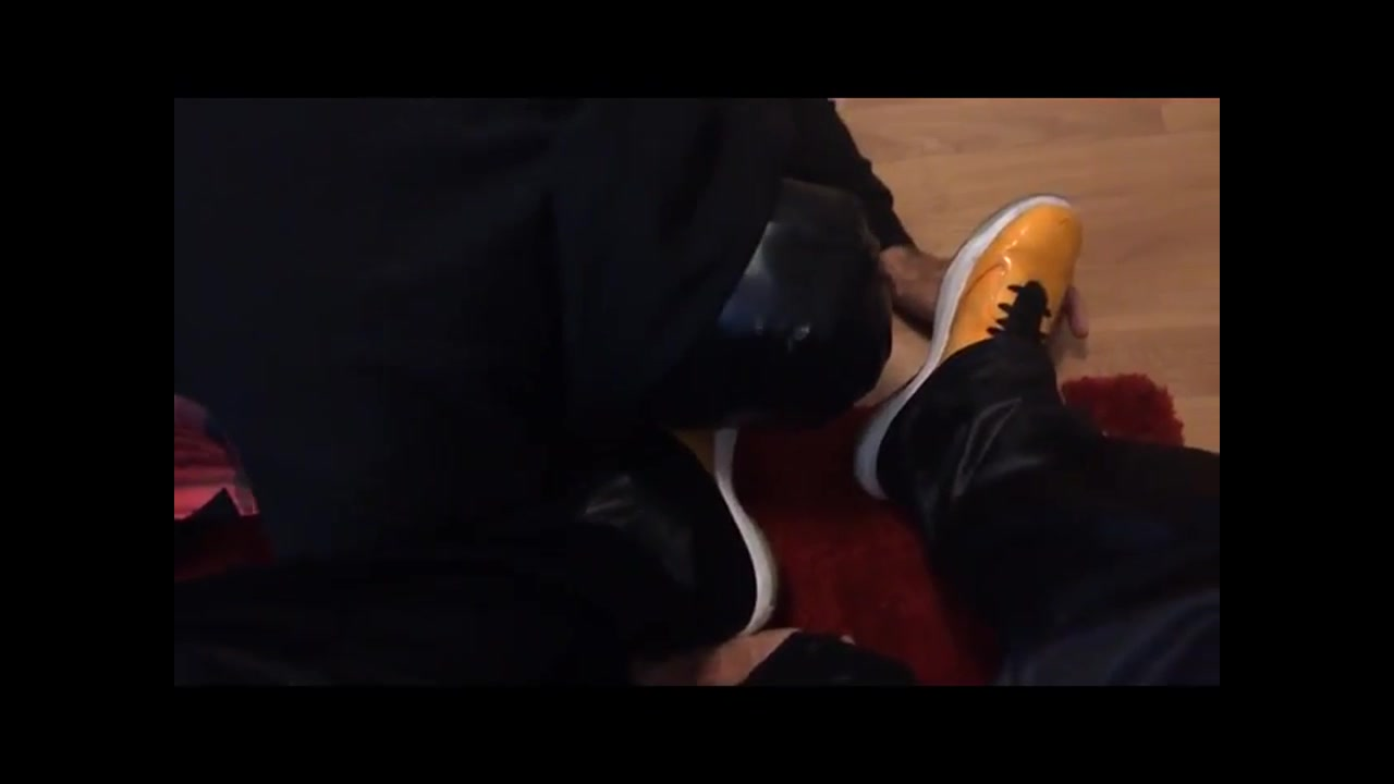 Slave Training 101 - Lick and Clean My Sneakers