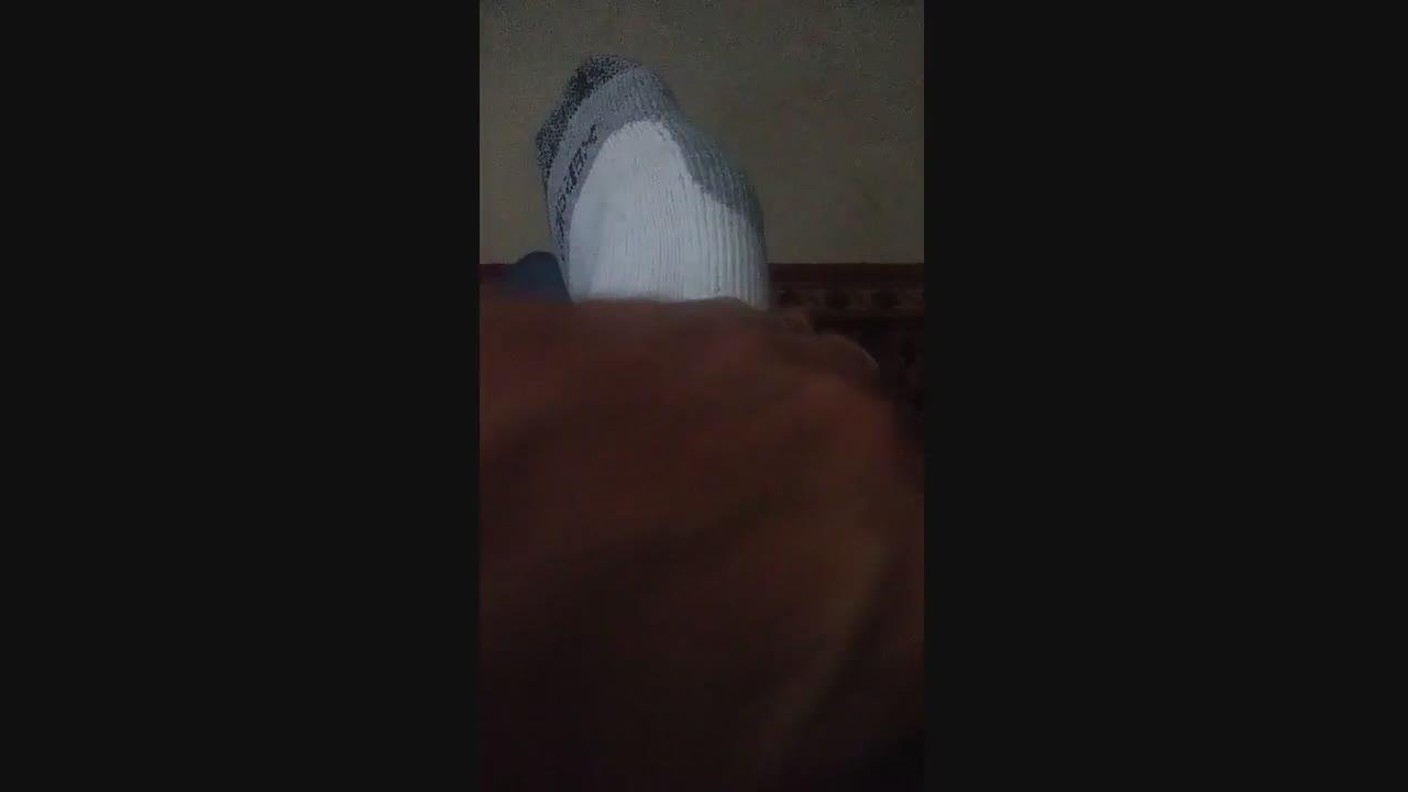 Broady's stinky..sweaty..man feet...