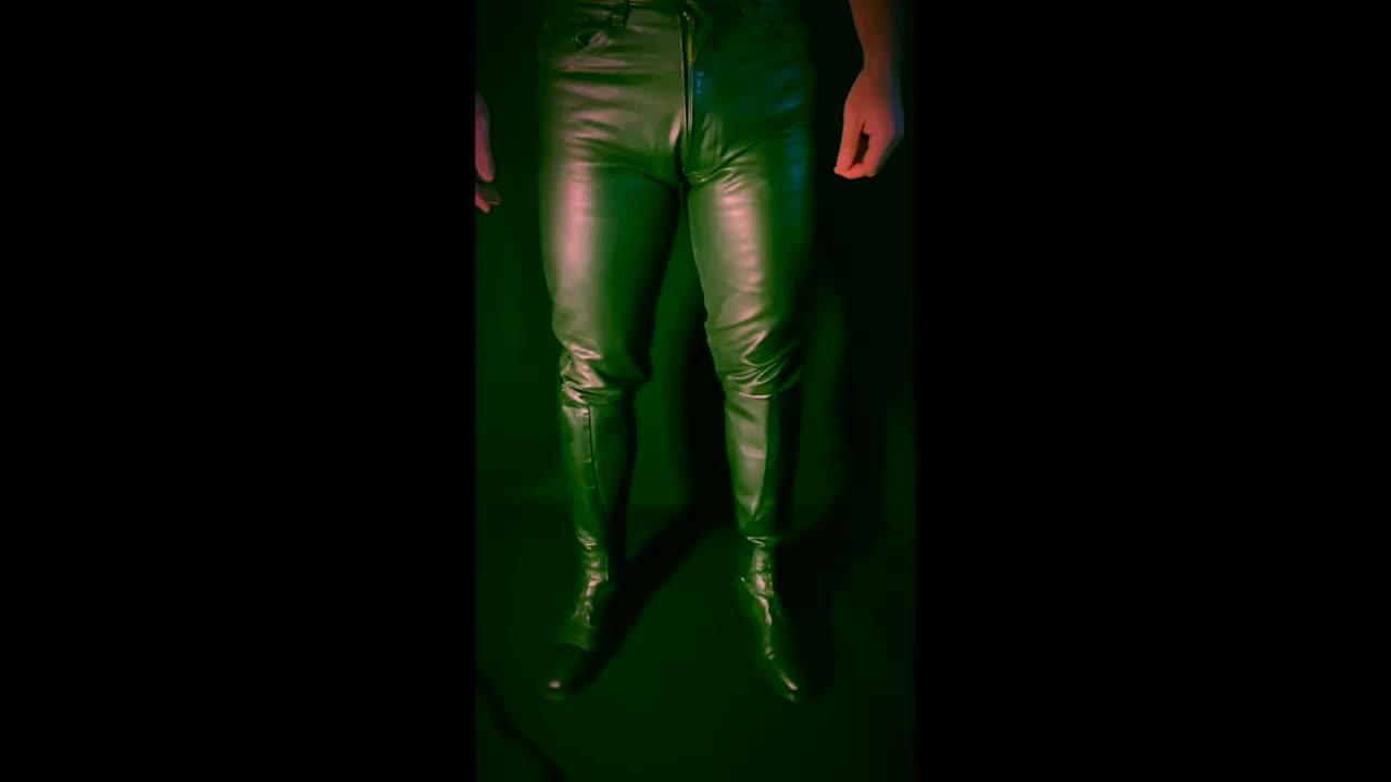 Your Leather GOD - ASMR POV