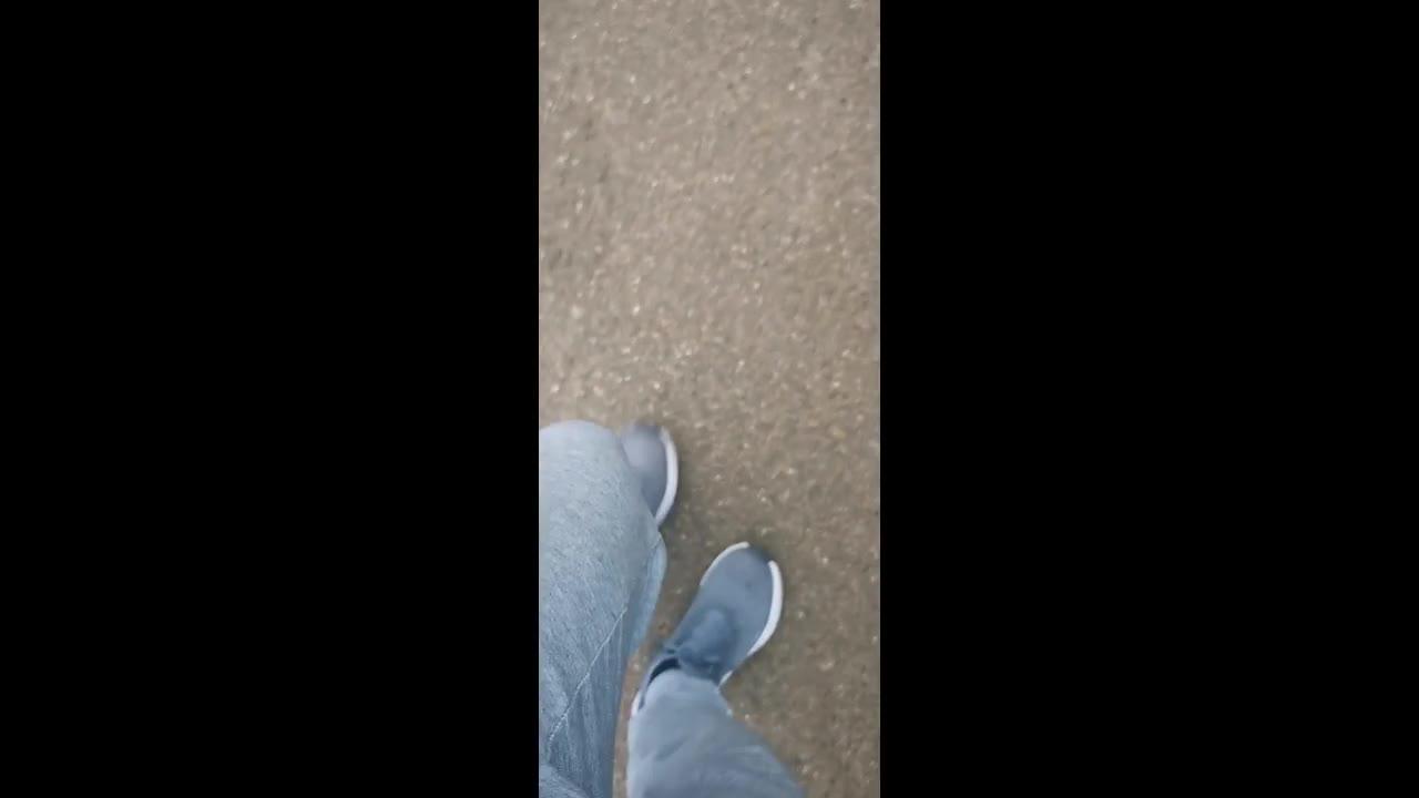 Morning walks create sweaty musky feet