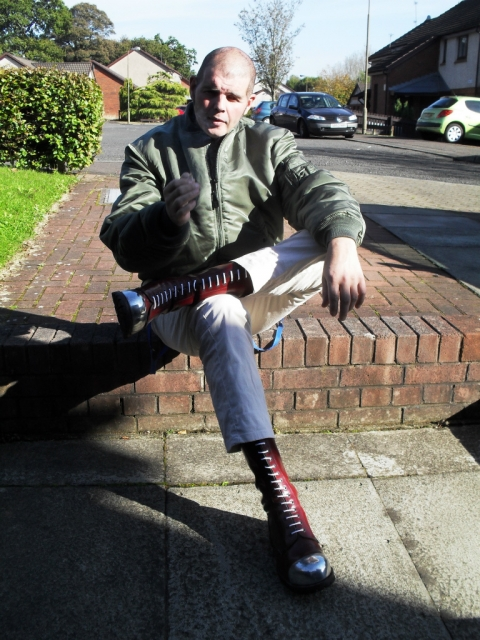 shine the toecaps #skinhead #skinhead #rangers