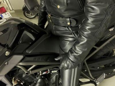 Taste the leather, boy
