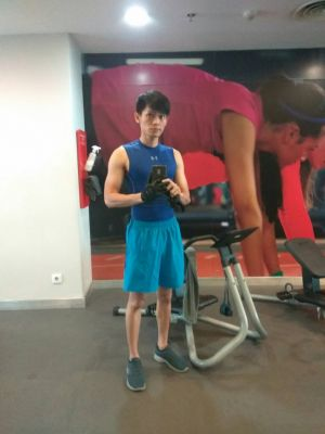 Bulking up  #gym #asian #master