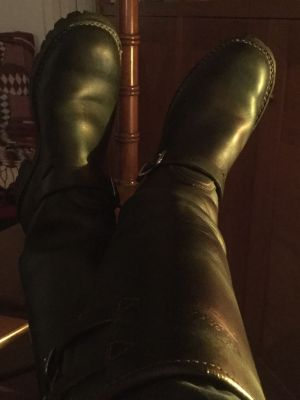 My boots need work