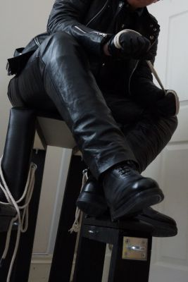 Get down on your knees and lick my boots clean, fags.