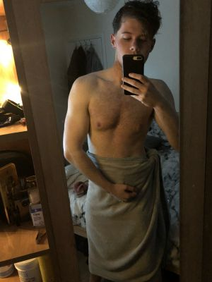 fresh out the shower. Which faggot wants to dry GOD off?