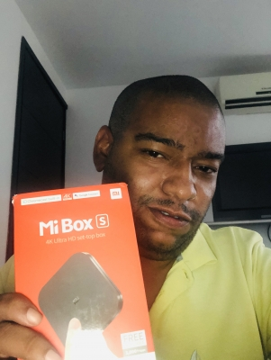 a present from my wishlist: Mi Box S
