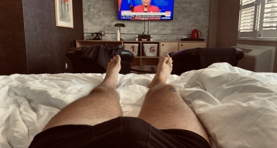 Politics and feet. Just missing a serving faggot sucking just toes and adding to my accounts.