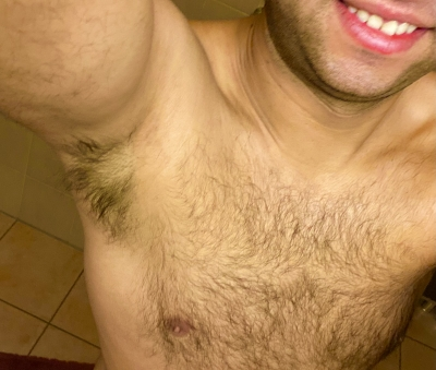 What do you prefer, lick my nipples or my armpits