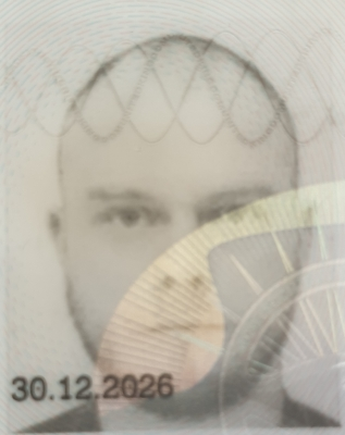 My driving licence photo - uploaded from a chat convo earlier 😂