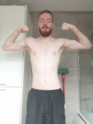 On your knees faggots, fresh from a sweaty workout.