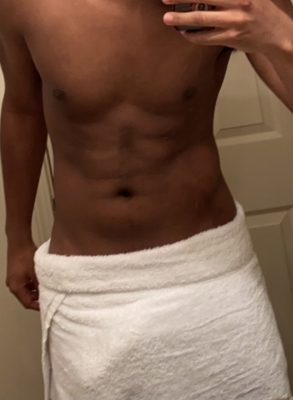 You fags WISH you could have a body and cock like mine.