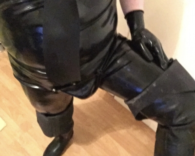 Rubber Uniform on ready n waiting for worthless faggots to send messages and gifts to me.  New and existing faggots welcome.   Go on…, I'm waiting …….