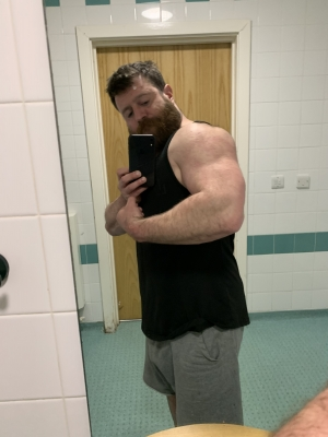 Great arm pump this eve